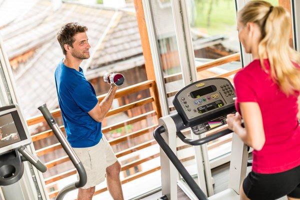 Foto della zona fitness Hotel Alpenhof