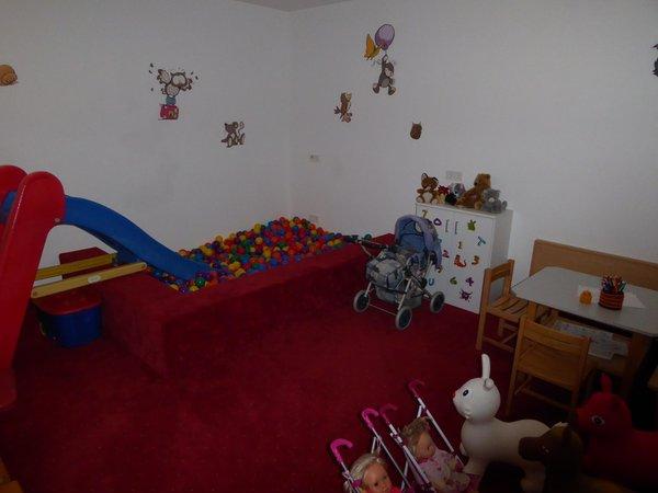 Das Kinderspielzimmer Sporthotel Rasen