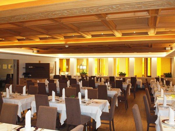 Il ristorante Rasun in Valle d'Anterselva Sporthotel Rasen