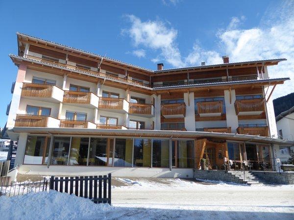 Foto invernale di presentazione Sporthotel Rasen - Hotel 4 stelle