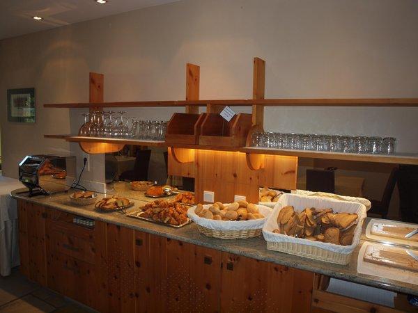 La colazione Sporthotel Rasen - Hotel 4 stelle