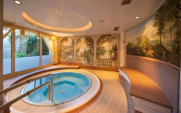 Photo of the wellness area Hotel Brunnerhof