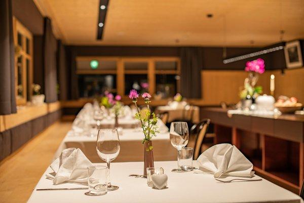 The restaurant Rasun in Valle d'Anterselva / Rasen im Antholzertal Brunnerhof