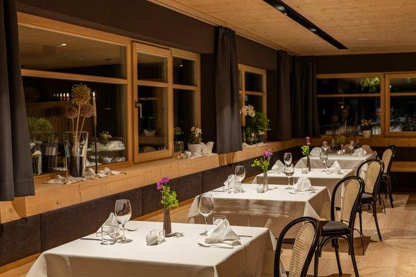 Il ristorante Rasun in Valle d'Anterselva Brunnerhof
