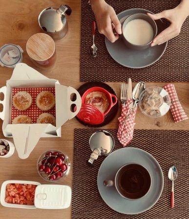 The breakfast Bed & Breakfast Cà Rossa