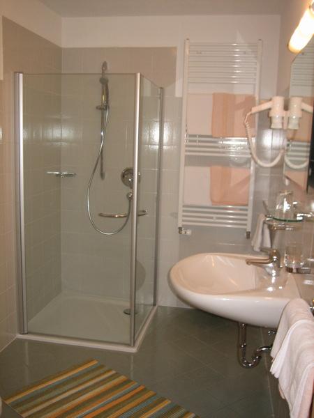 Photo of the bathroom Garni (B&B) + Apartments Neumairhof
