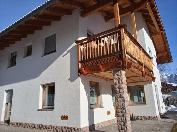 Foto invernale di presentazione Appartamenti Sardagna Luigi