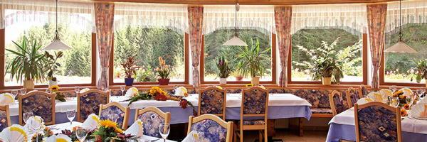 Il ristorante Nova Ponente Schwarzenbach