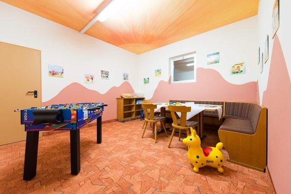 La sala giochi Residence Wiesenhof