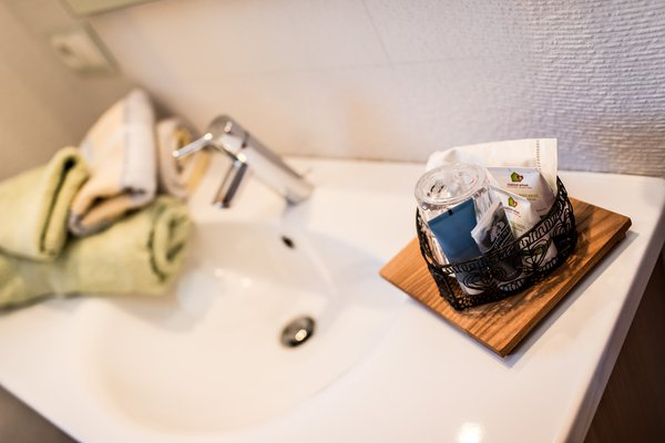 Foto del bagno Appartamenti Spanglerhaus