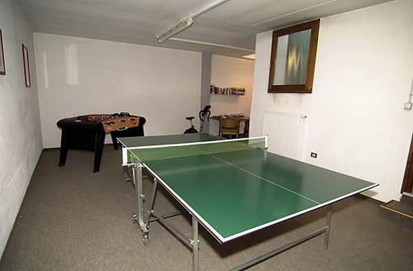 La sala giochi Appartamenti Pichler