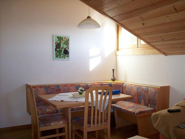 La zona giorno Köhlhof - Appartamenti in agriturismo 3 fiori