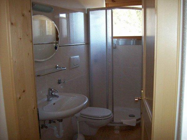 Foto del bagno Appartamenti in agriturismo Köhlhof