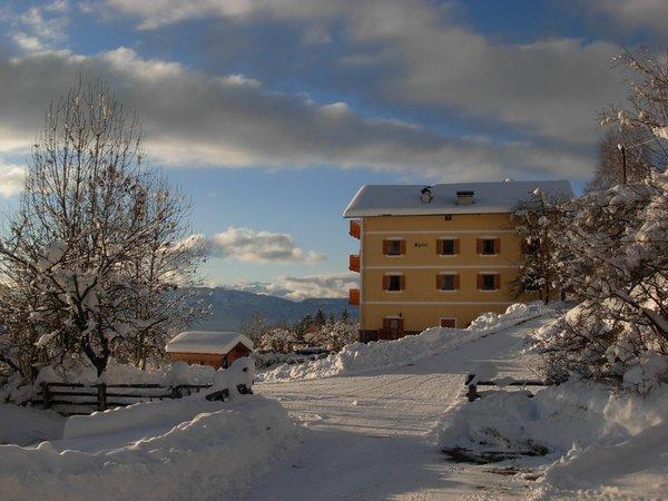 Winter presentation photo Farmhouse apartments Spörlhof