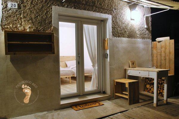 Foto vom Zimmer Zimmervermietung Pedibosco bed