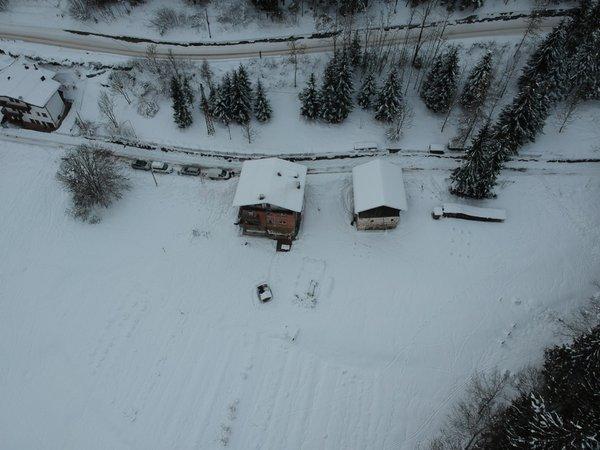 Winter Präsentationsbild Zimmervermietung Pedibosco bed