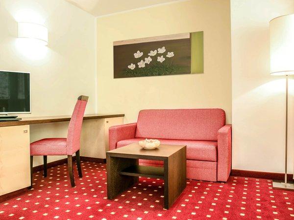 La zona giorno Marica - Hotel 4 stelle