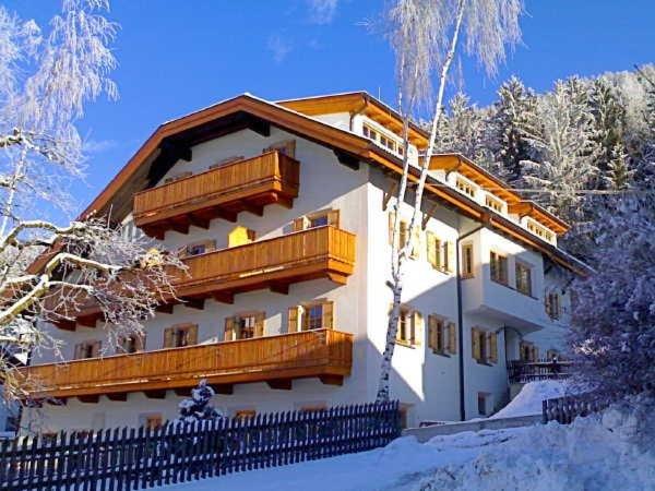 Foto invernale di presentazione Residence Zollerhof
