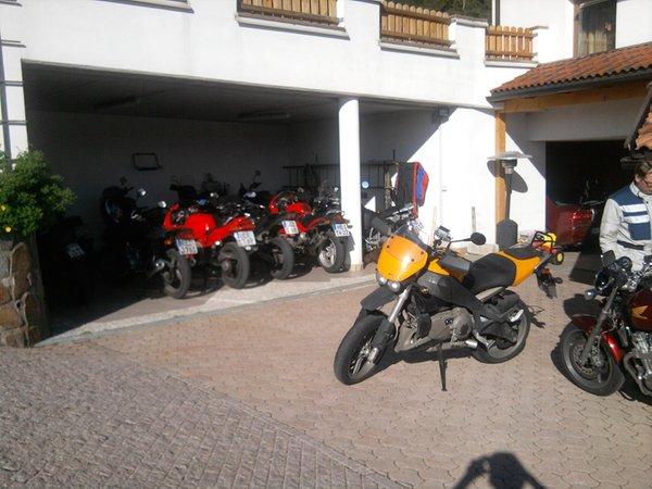 Il parcheggio Gasthof (Albergo) Specker