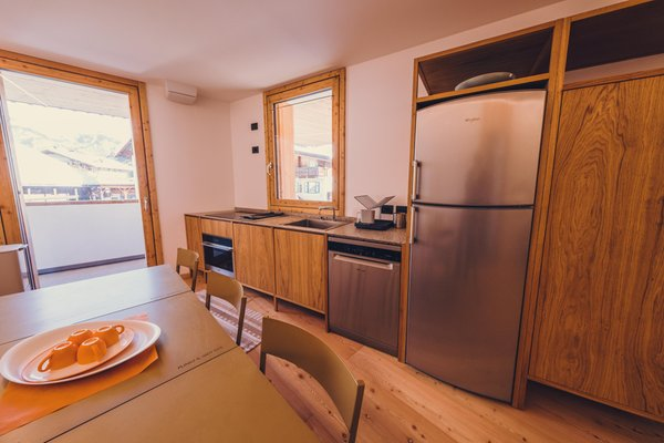 Foto der Küche Ciasa Nü