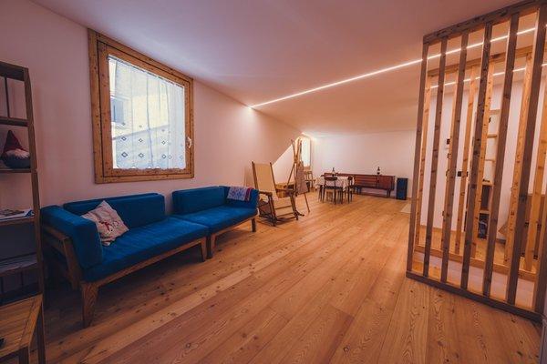Das Wohnzimmer Ferienwohnungen Ciasa Nü
