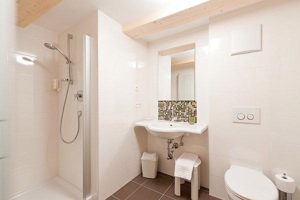 Foto del bagno Albergo Zur Sonne