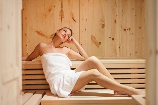 Foto della sauna Ega