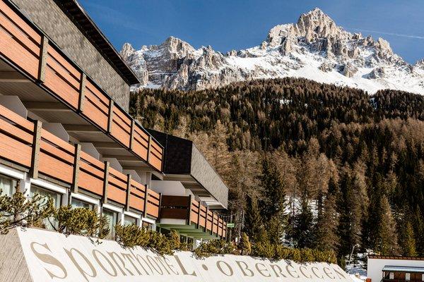 Foto invernale di presentazione Sporthotel Obereggen - Hotel 4 stelle sup.