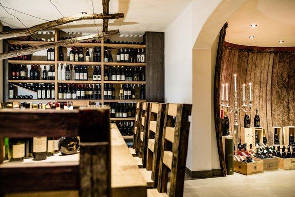 La cantina dei vini Nova Ponente Sporthotel Obereggen