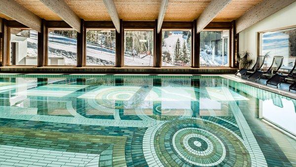 La piscina Sporthotel Obereggen - Hotel 4 stelle sup.