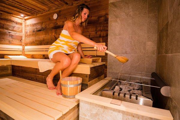 Foto der Sauna Moos in Passeier
