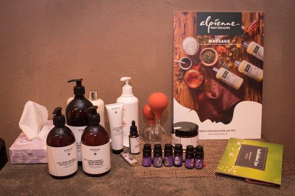 Foto vom Wellness-Bereich Hotel Alpenland