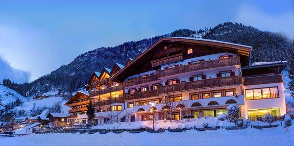 Winter Präsentationsbild Hotel Alpenland