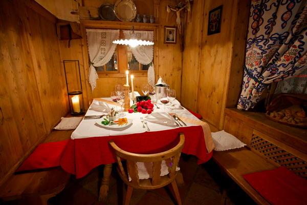 Il ristorante Nova Levante Pardeller