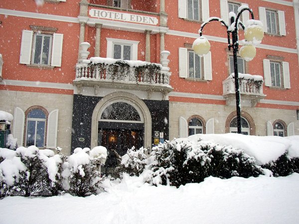 Foto invernale di presentazione Hotel Eden Libardi