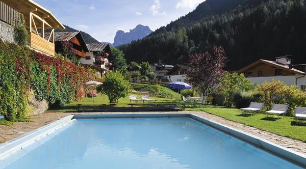 La piscina Central - Hotel 3 stelle