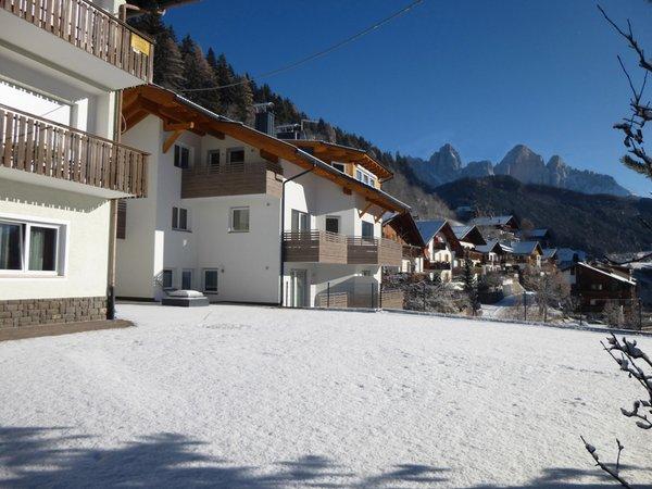 Foto invernale di presentazione Plank - Garni (B&B) + Appartamenti 3 soli