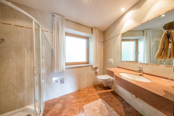 Photo of the bathroom Apartments Mahlknecht