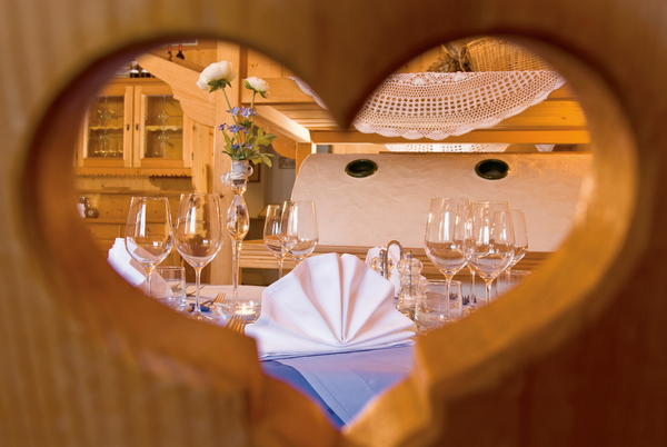 Il ristorante Carezza Sporthotel Alpenrose