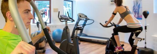 Foto della zona fitness Sporthotel Alpenrose