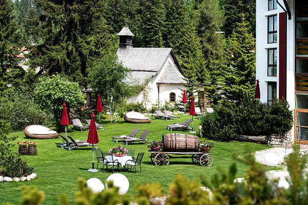 Foto del giardino Carezza