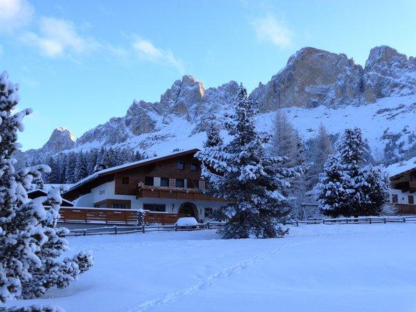 Foto invernale di presentazione Appartamenti Girgenoy