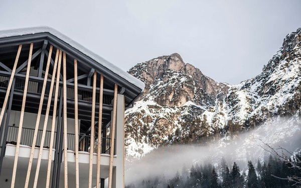 Photo exteriors in winter LaMonte Premium Apartments by Feuerstein