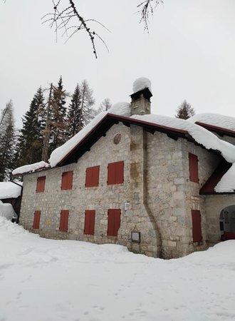 Photo exteriors in winter Vazzoler