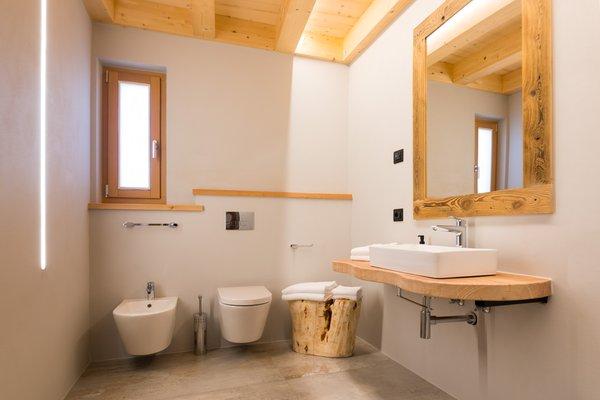 Foto del bagno Latemar Fiemme Apartments