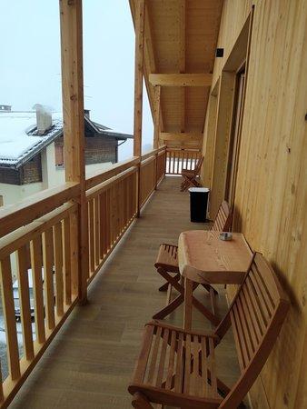 Foto del balcone Latemar Fiemme Apartments