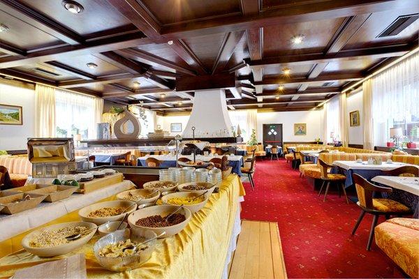 Il ristorante Nova Levante Castel Latemar