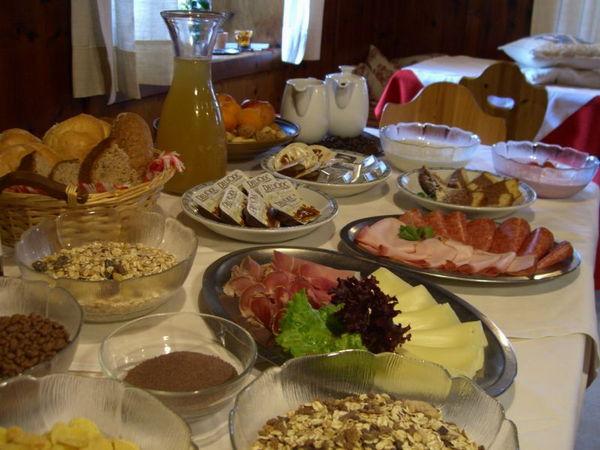 La colazione Eggererhof - Camere in agriturismo 3 fiori