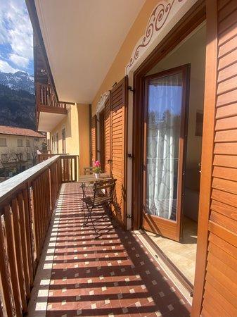 Foto del balcone Molveno Centro