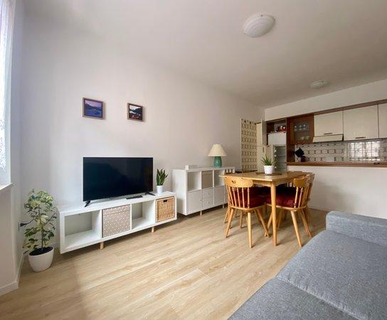 La zona giorno Appartamenti Molveno Centro